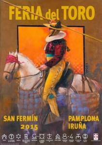 cartel feria del toro pamplona